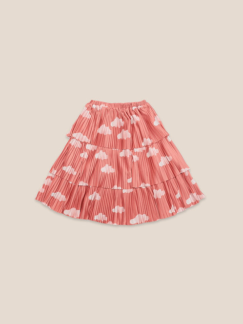 Clouds All Over Woven Skirt