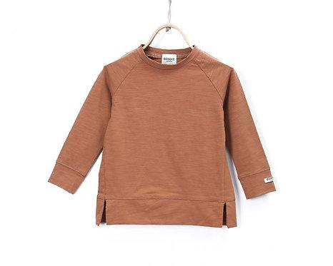 Stevi Shirt- Mocha Bisque