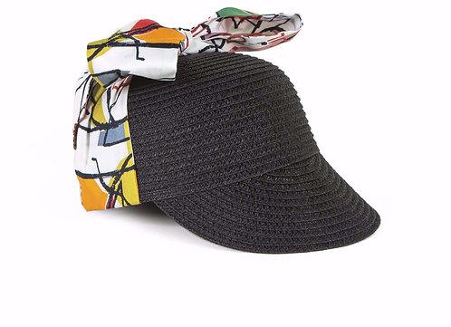 Hat Violeta Be Bop Straw