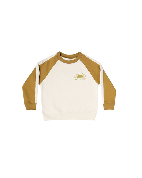 You're Golden Raglan Sweatshirt & Jogger Pants