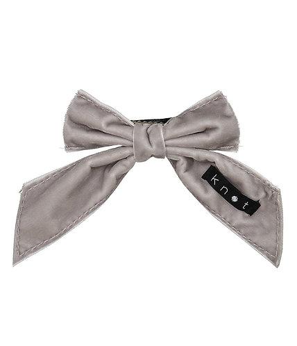 Barre Bow -Grey