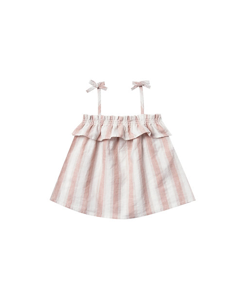 Set Of Ruffle Tube Top & Flutter Bloomer