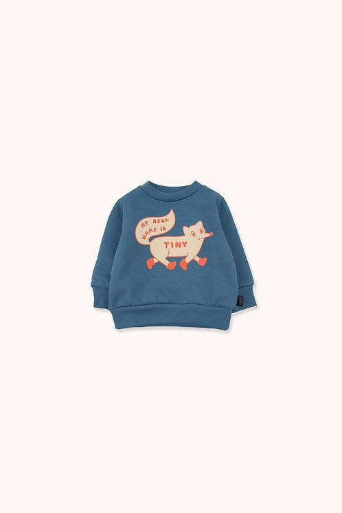 TINY FOX SWEATSHIRT & SWEATPANTS