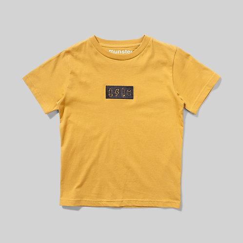 Stickers Tee/ Mustard
