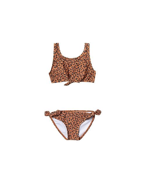 Cheetah Knotted Bikini