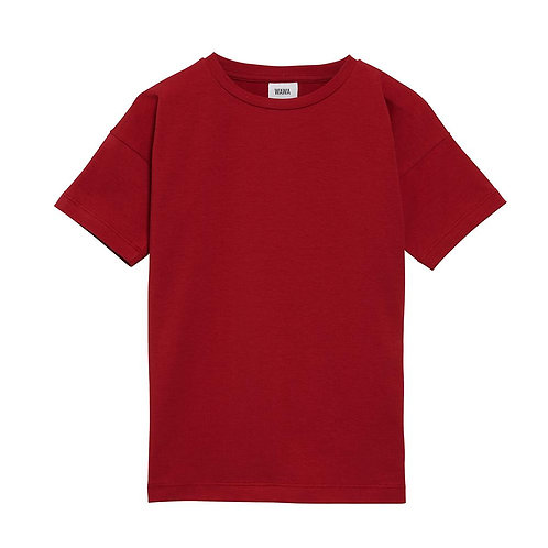 Simple Tee- Spicy Red