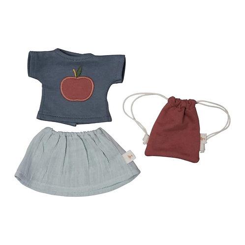 Doll Clothes Set - T-Shirt/Skirt