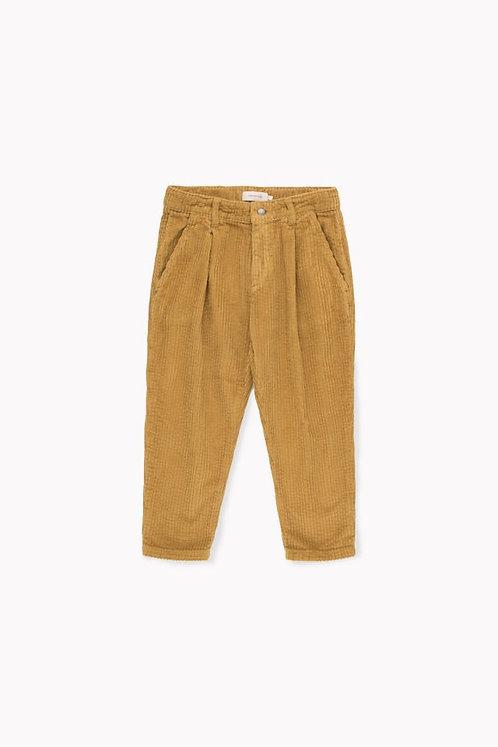 Cord Pleated Pants