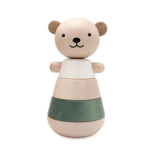 Stacking Bear- Green