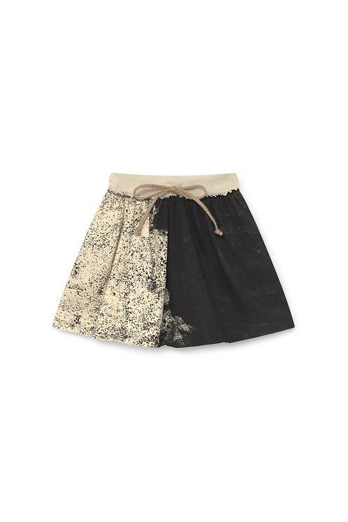 Scribble Mini Skirt