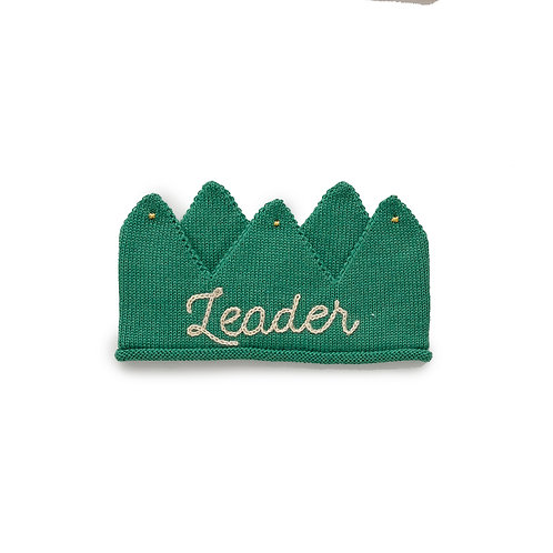 Embroidered Crown- Leader