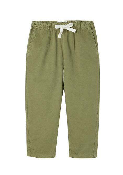 Olive Drawstring Pant