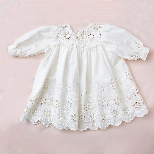 Bebe Embroidered Dress
