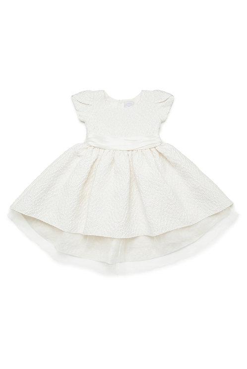 Ivy Blossom Jacquard Dress
