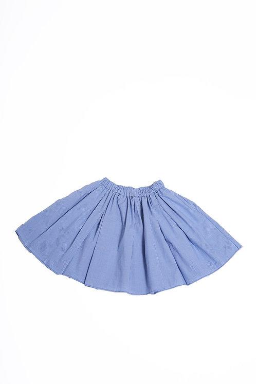Jalisco Twirl Skirt / Cobalt