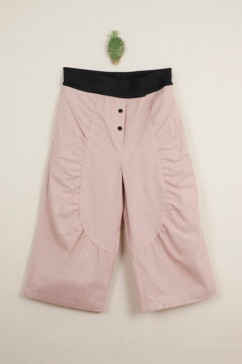 Pink Culotte Trousers