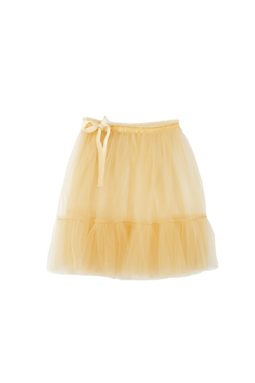 Yellow Apron Tulle Girls Skirt