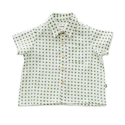 Button Down Shirt Green