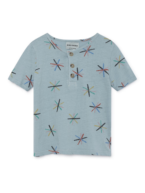 Dandelions Buttons T-Shirt