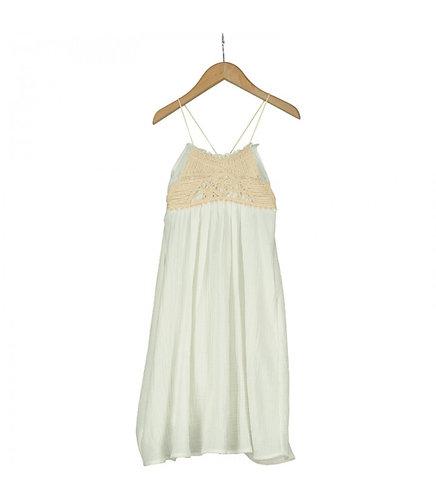 Puccini Beige Cotton Dress