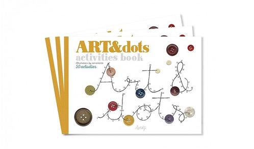 Art & Dots Activity Book