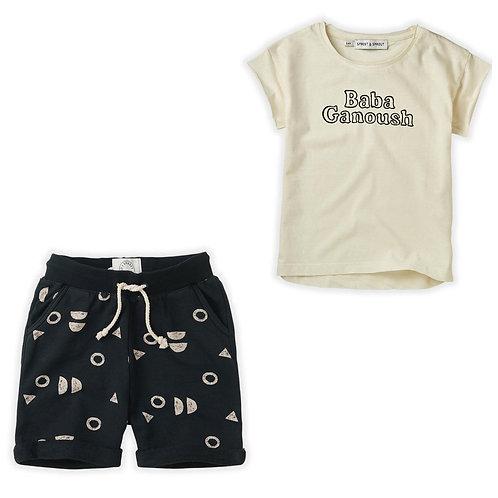 Baba Ganoush T-Shirt & Short Set