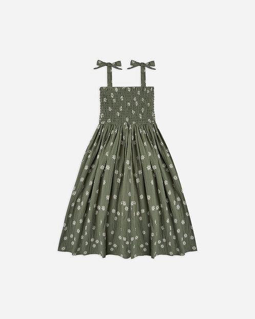Daisy Ivy Smocked Dress