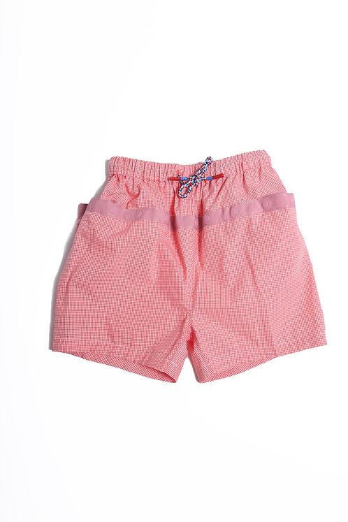 Multi Snap Cargo Shorts - Tangerine