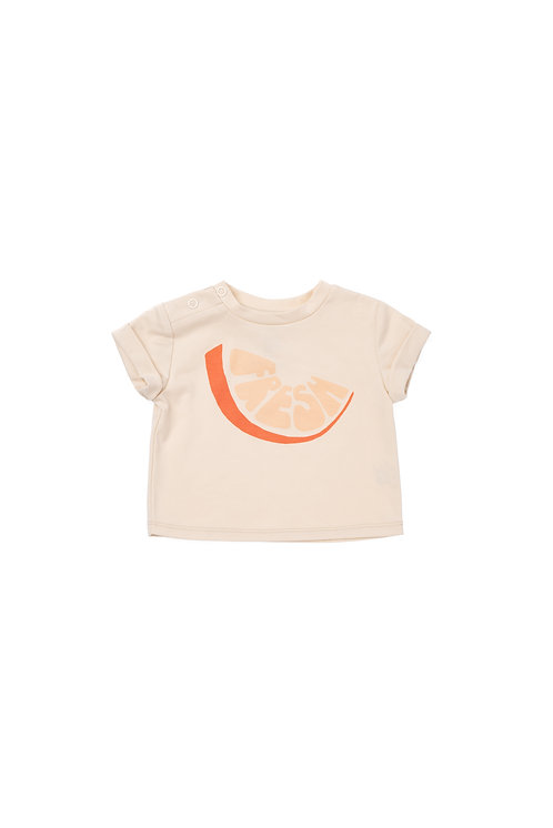 Set Of Baby T-shirt & Gauze Bloomers