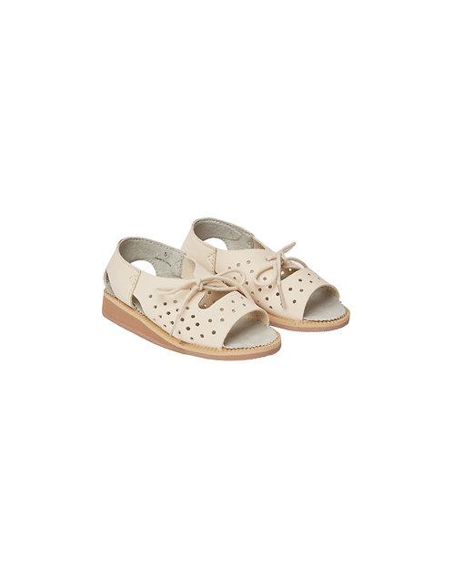 Juliet Tie Sandals - Natural