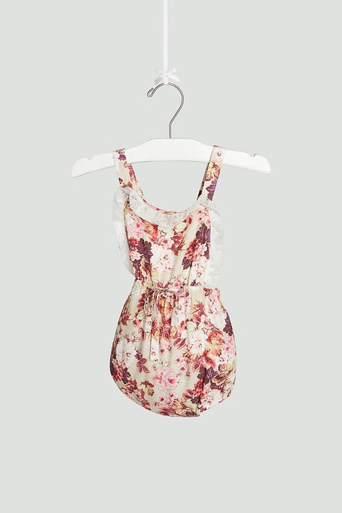 Floral Ruffle Bubble