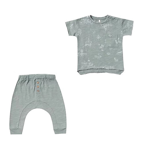 Set Of San Diego Tee & Slub Pant