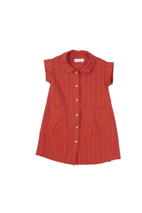 Red Cherry Girls Dress