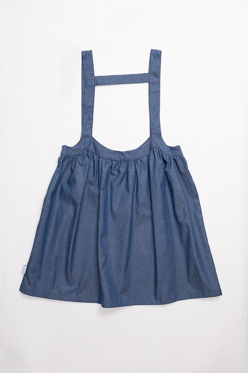 Isleta Skirt Blue Denim