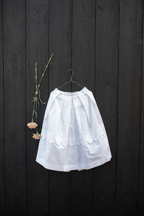 Loretta Skirt- White