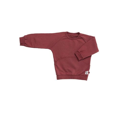 Sweater & Jogger Set -Terra-Cotta
