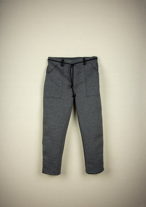 Grey Knitted Jogging Bottoms