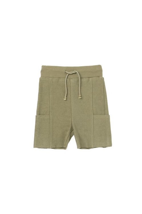 Terry Shorts W/ Side Pockets