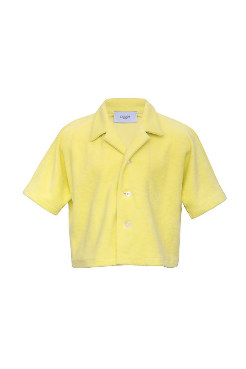 Organic Cotton Terry Cloth Shirt