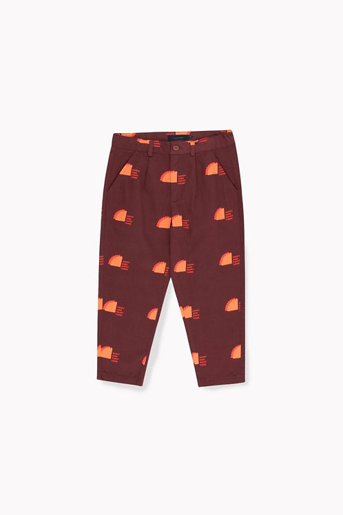 Poppy Sign Pleated Pant