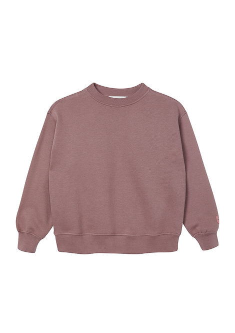 Rose Taupe Oversized Sweatshirt