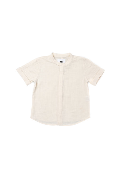 Button Down Gauze Shirt