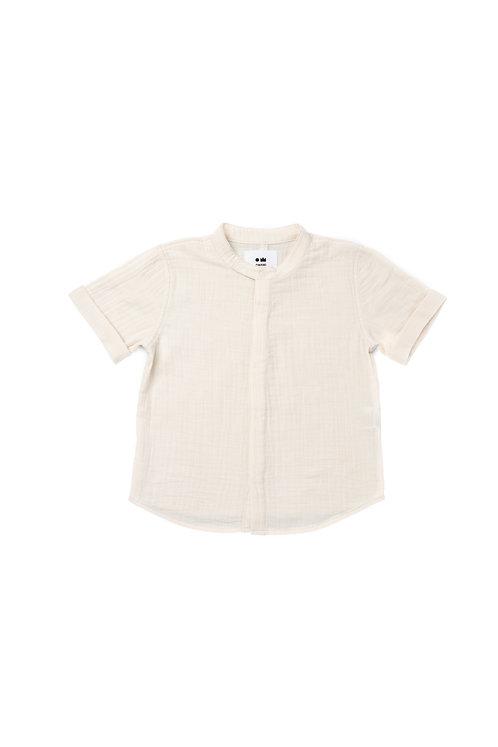 Button Down Gauze Shirt