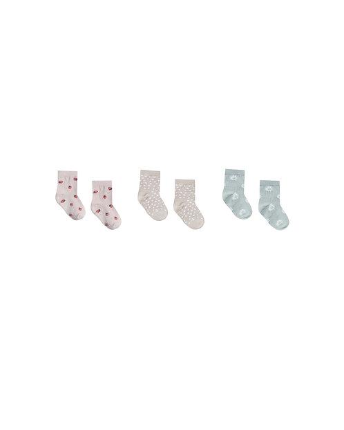 Printed Ankle Sock Set