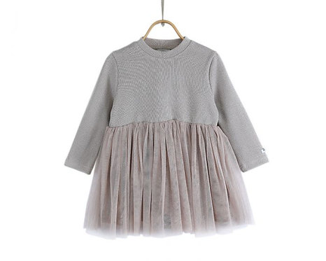 Tilly Dress- Grey Dawn
