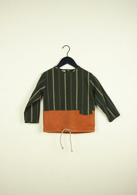 Two-Tone Orange Shirt