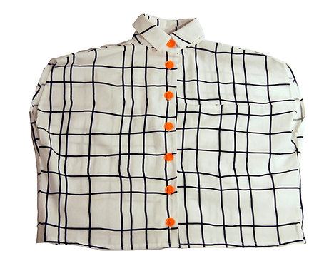 "Short Shirt ""GAG""- Optic Grid"