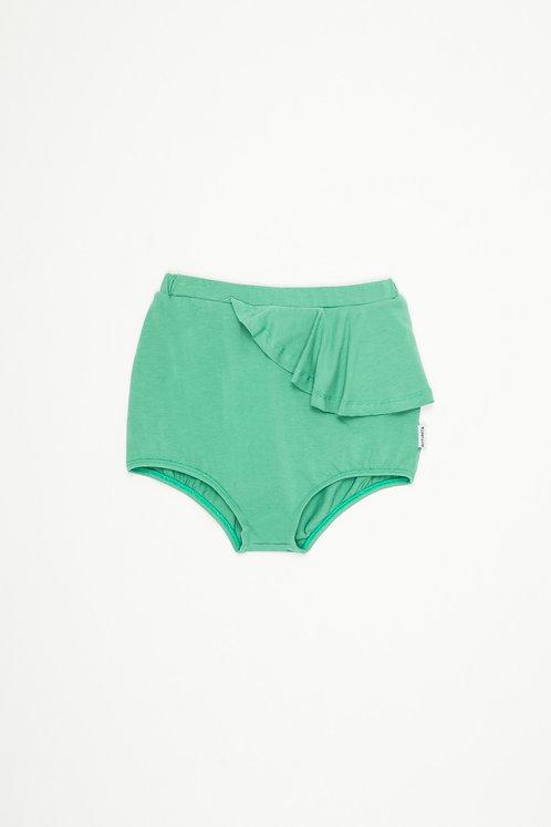 Rose Ruffled Shorts