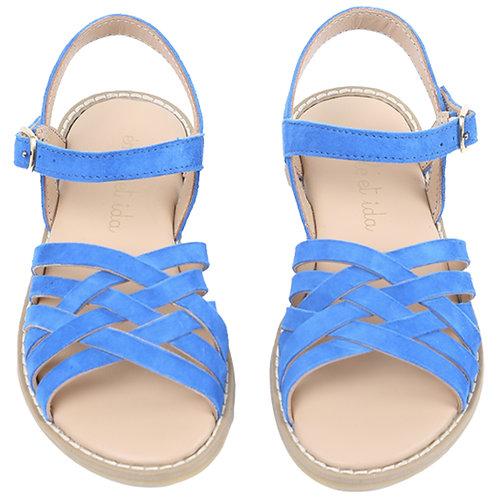 Blue Sandales