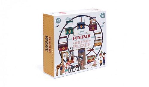 Fun Fair Round Puzzle